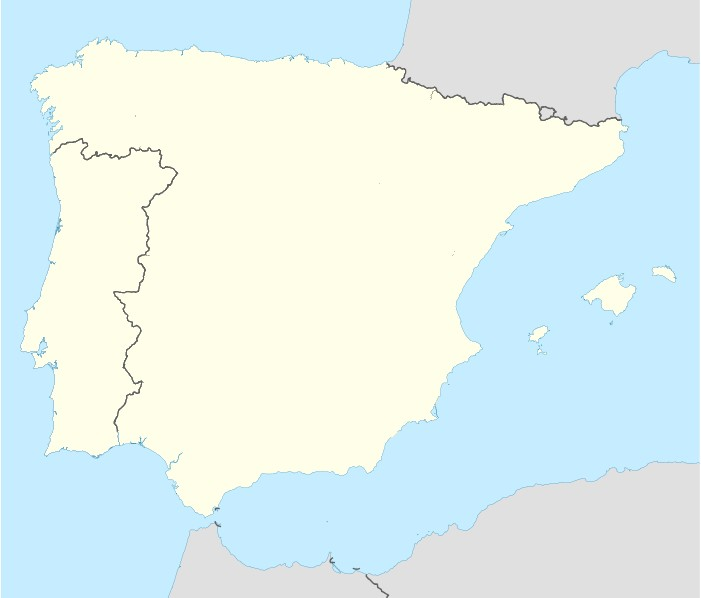 Map Of Portugal And Spain Detailed.File Portugal Spain Location Map Jpg Wikimedia Commons