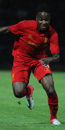 Raheem Sterling August 2012 vs FC Gomel
