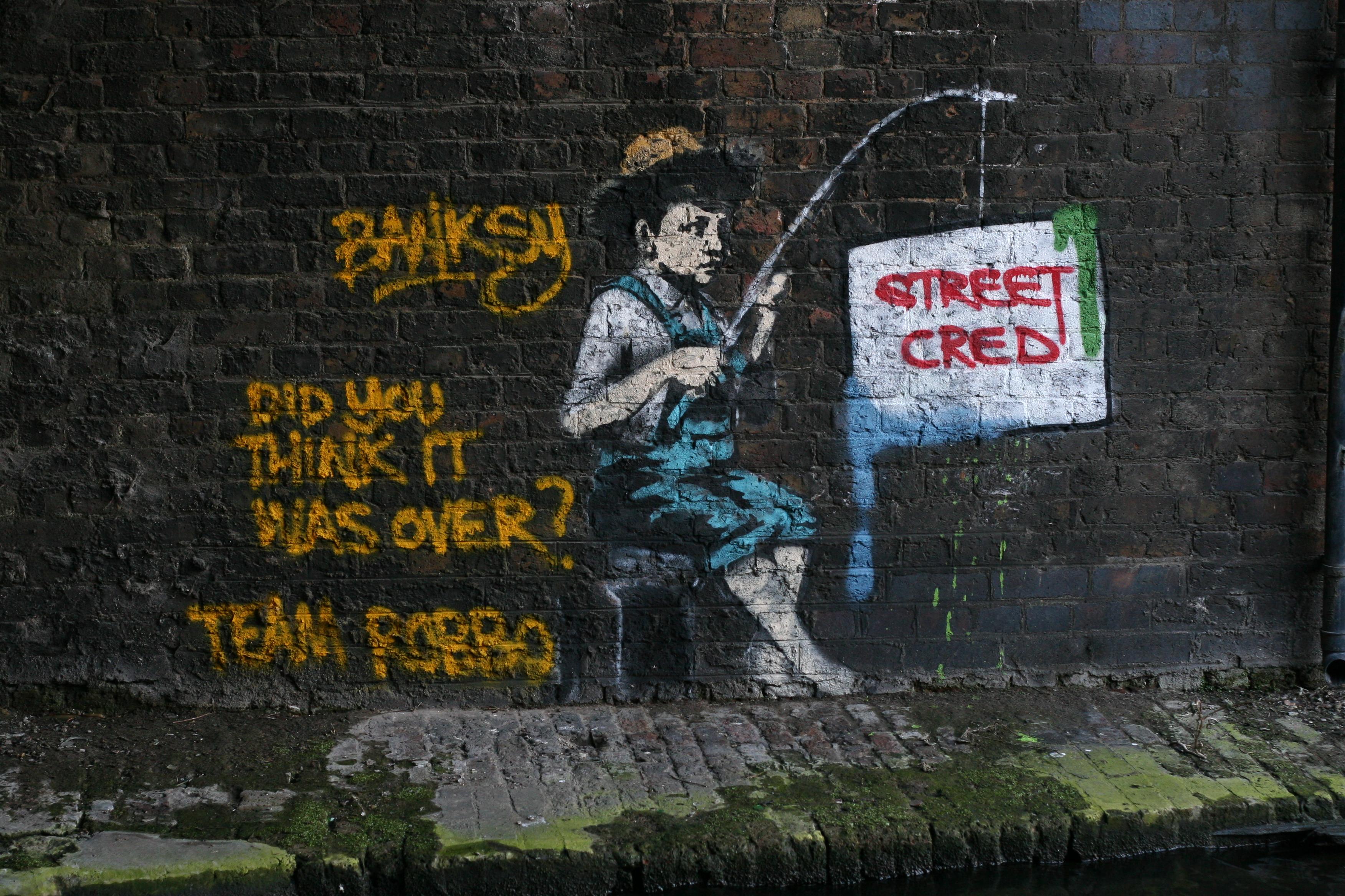 Robbo Vs Banksy