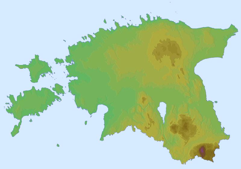 FileRelief Map Of Estoniapng Wikimedia Commons - Estonia map download