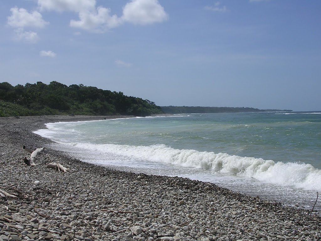 File:Remote coastal landscapes with tropical forest and strand ...