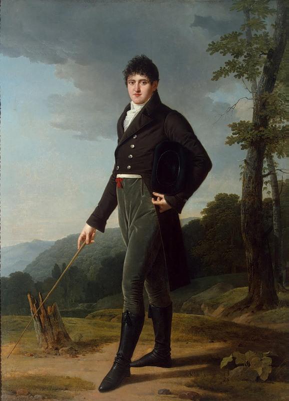 Lefevre Portrait of Count Andrey Bezborodko