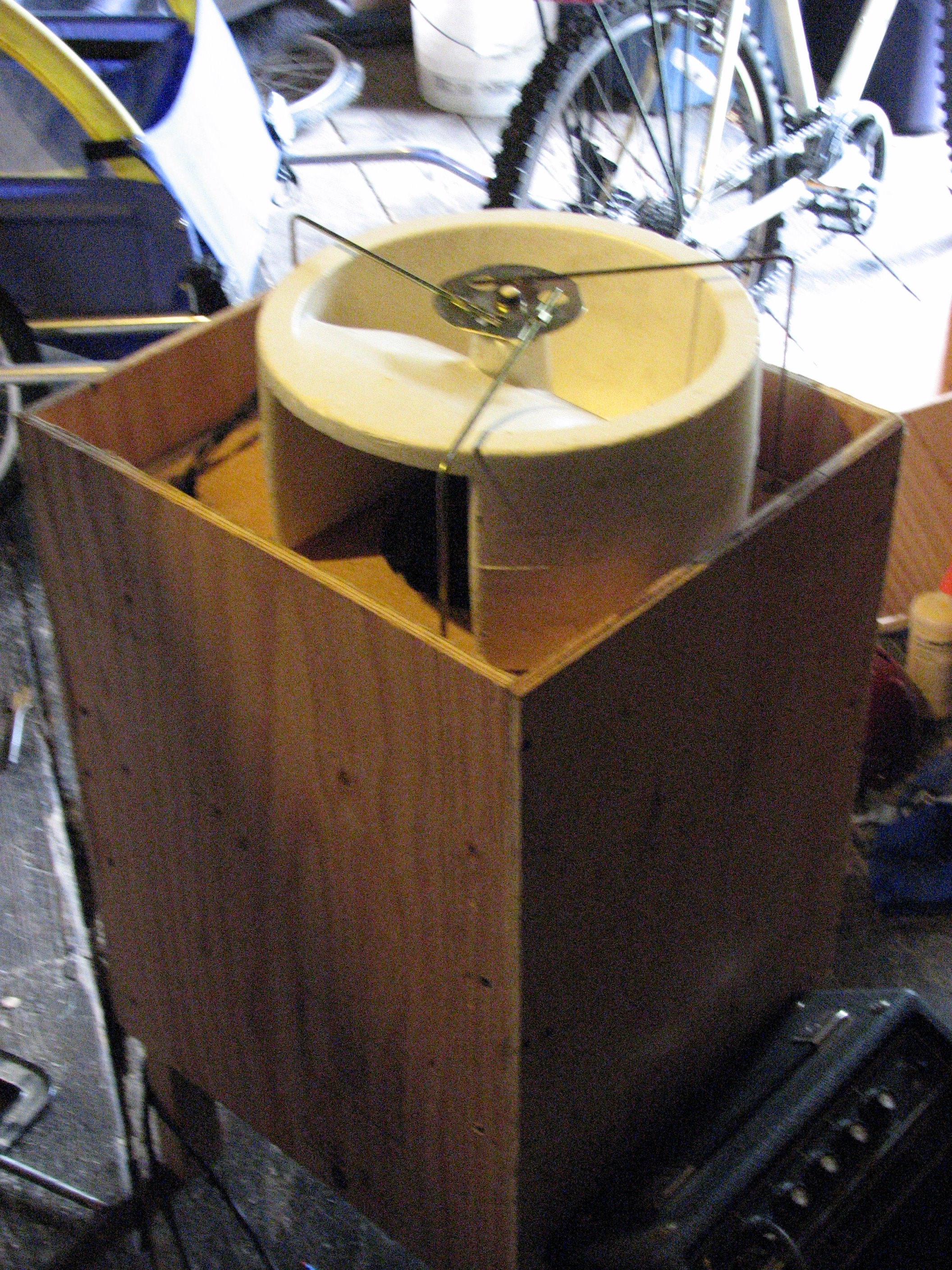 File:Rotary Speaker Cabinet (by Ralph Hogaboom) - rotor unit made ...