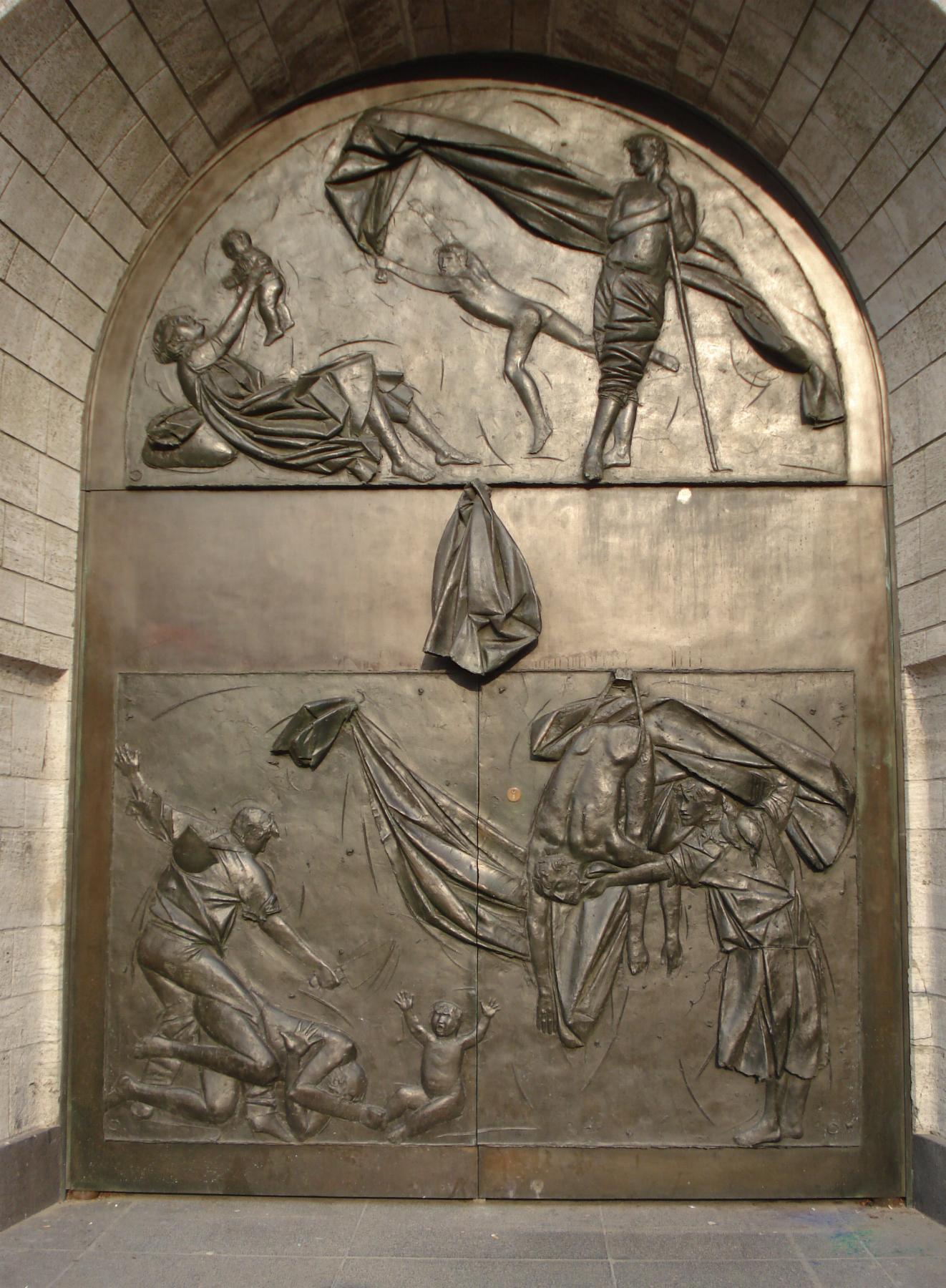 Citaten Oorlog En Vrede : Bestand rotterdam kunstwerk oorlog en vrede g wikipedia