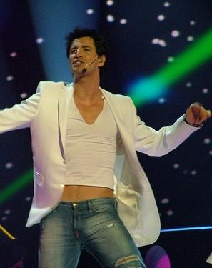 Sakis Rouvas in Eurovision 2004
