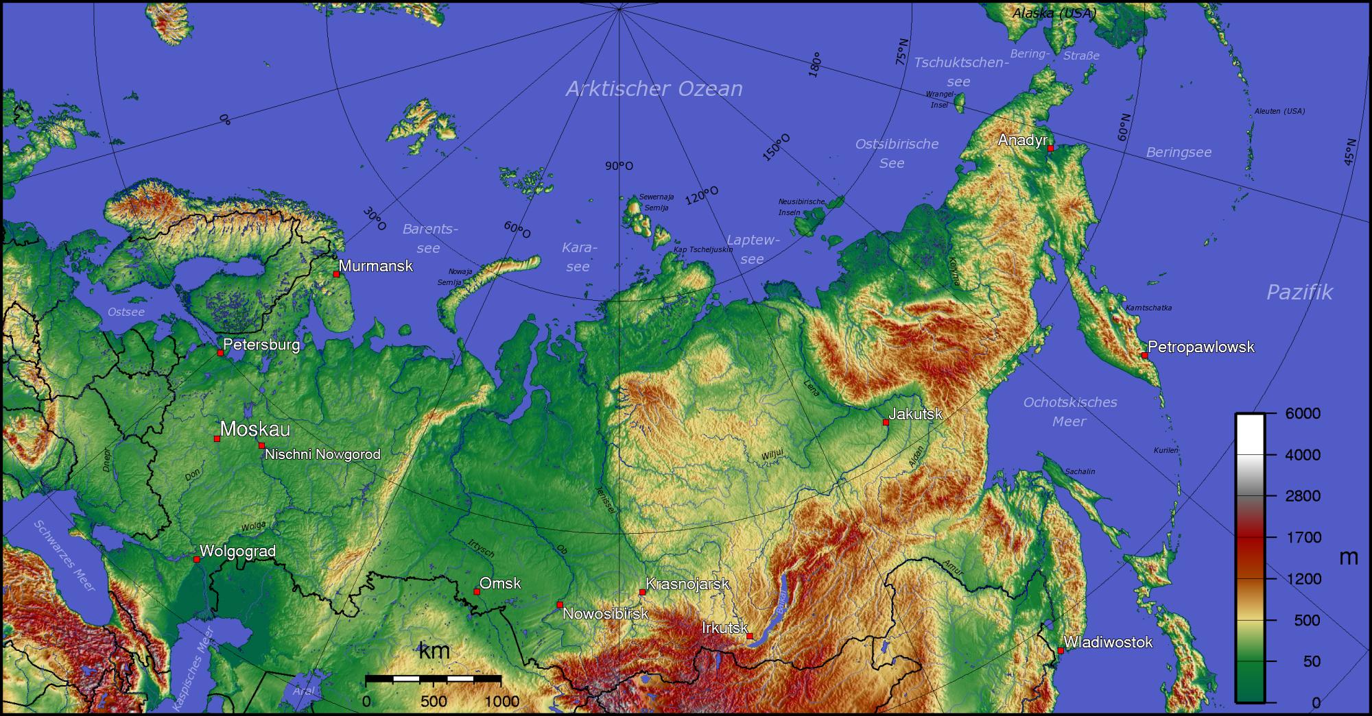 Russische Grosslandschaften Wikipedia