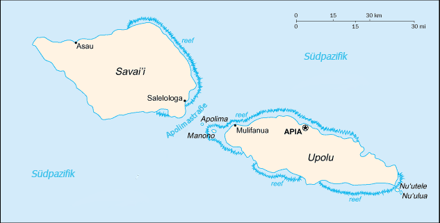 Samoa deutsch
