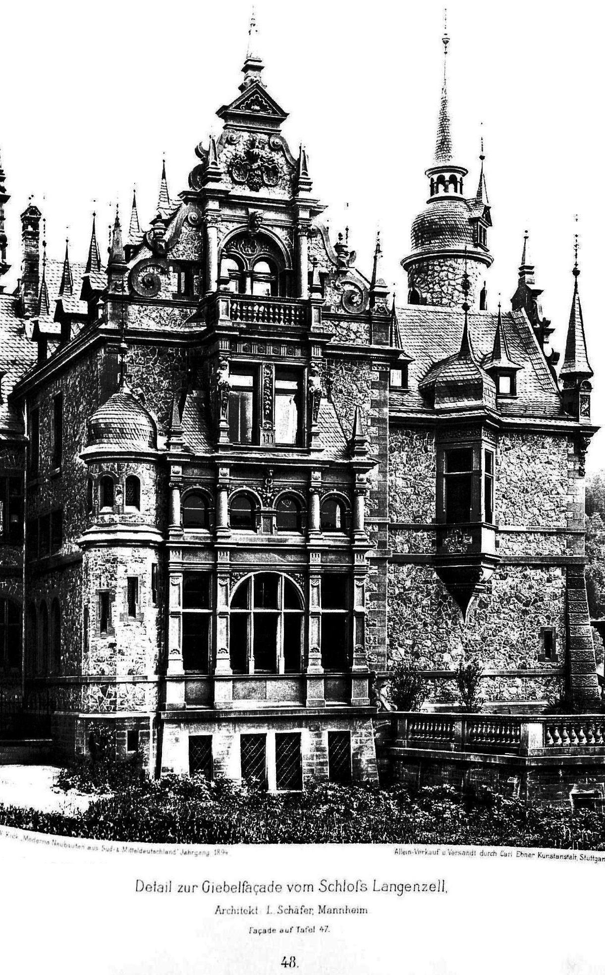 File schlo langenzell in neckargem nd architekt l - Architekt mannheim ...