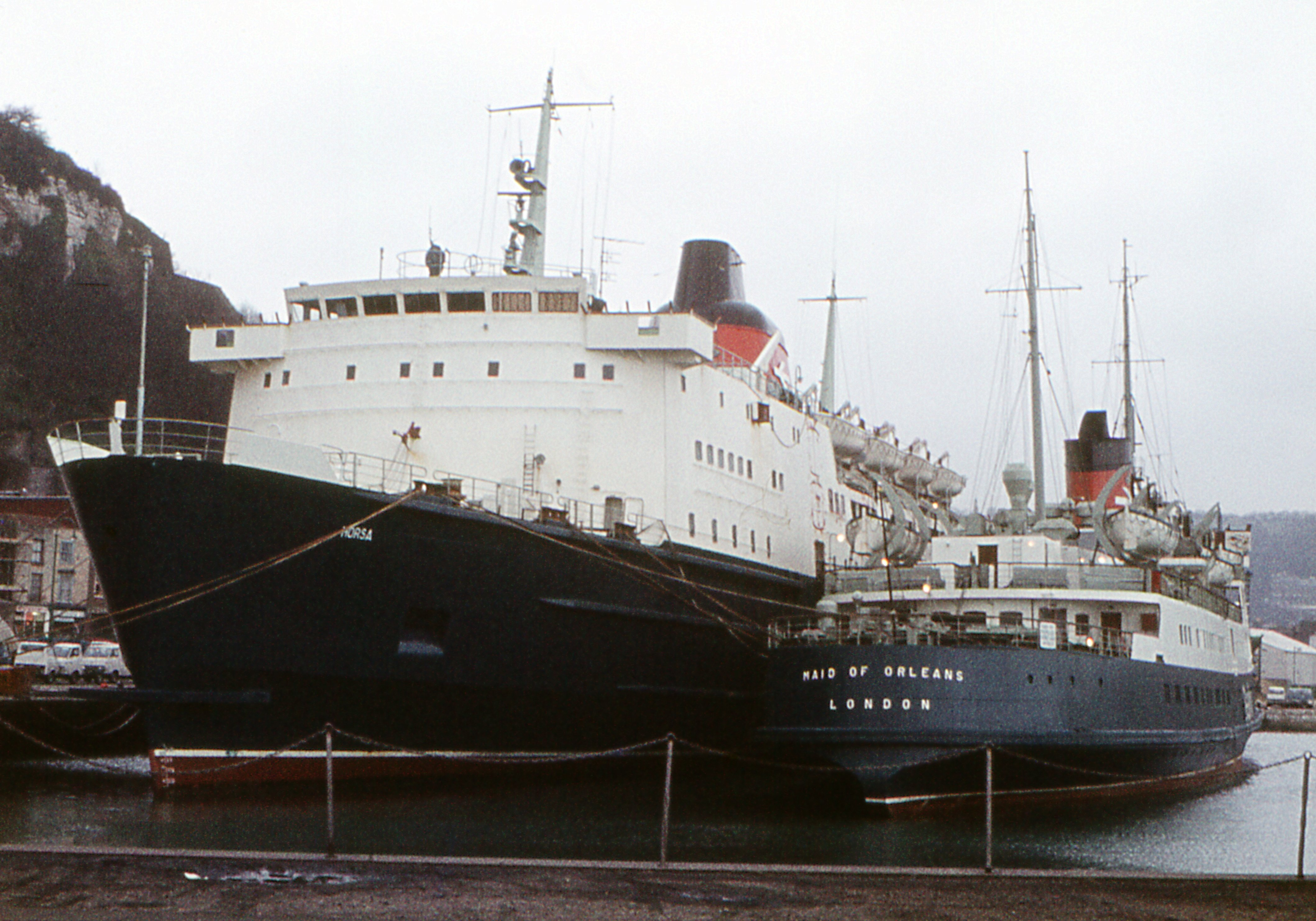File Sealink Ferries Horsa And Maid Of Orleans Dover