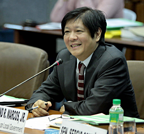 Marcos: Peace Process Best Way Against Isis Entry in PH