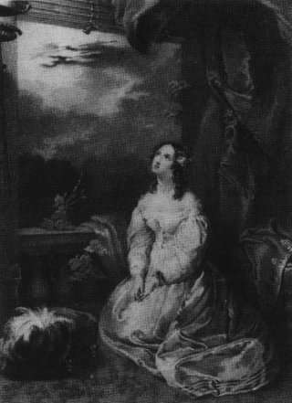 "Shelley frequently wrote stories to accompany prepared illustrations for gift books, such as this one, which accompanied ""Transformation"" in the 1830 The Keepsake. ShelleySharpeJuliet.jpg"