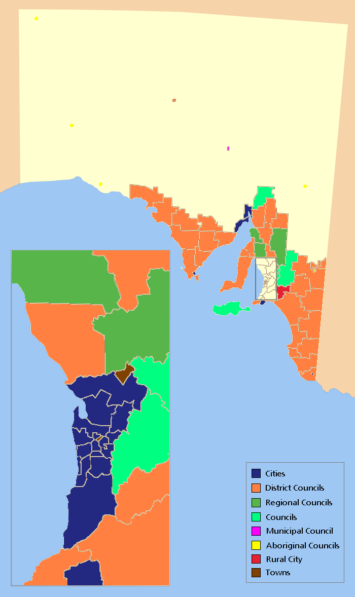 local government areas of south australia wikiwand