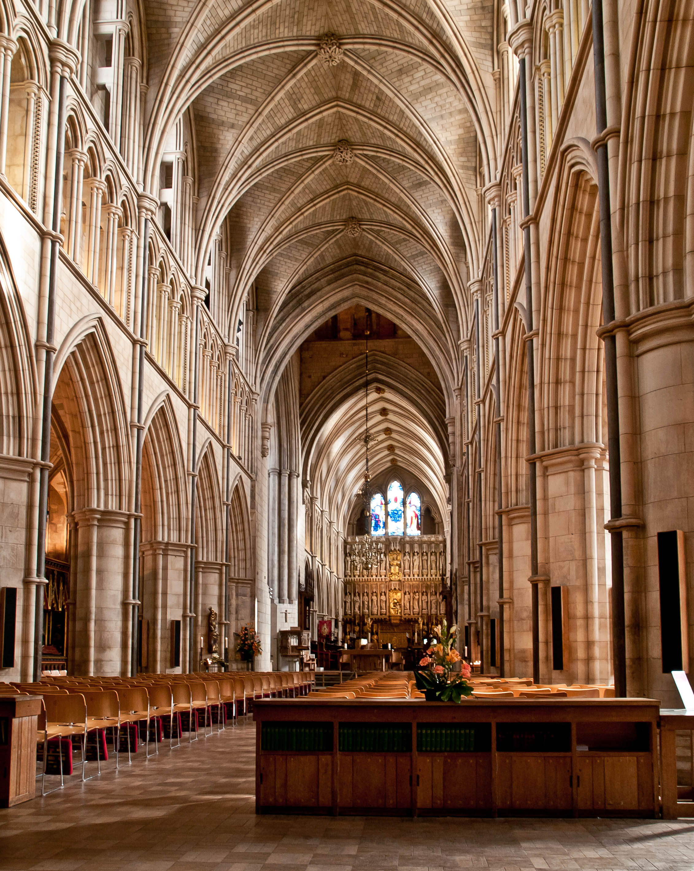Southwark Cathedral London Inside Wikimedia