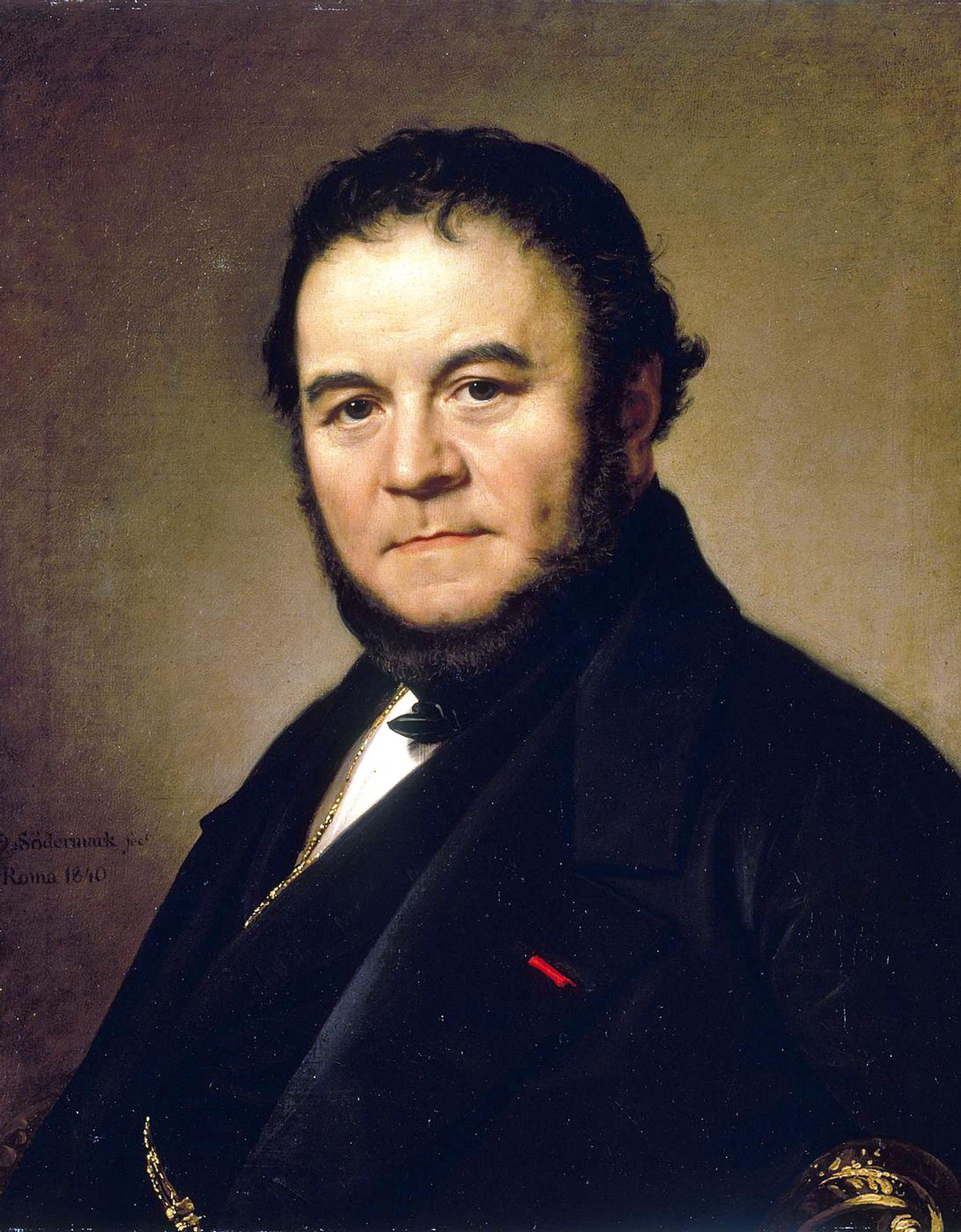 Photo of Stendhal