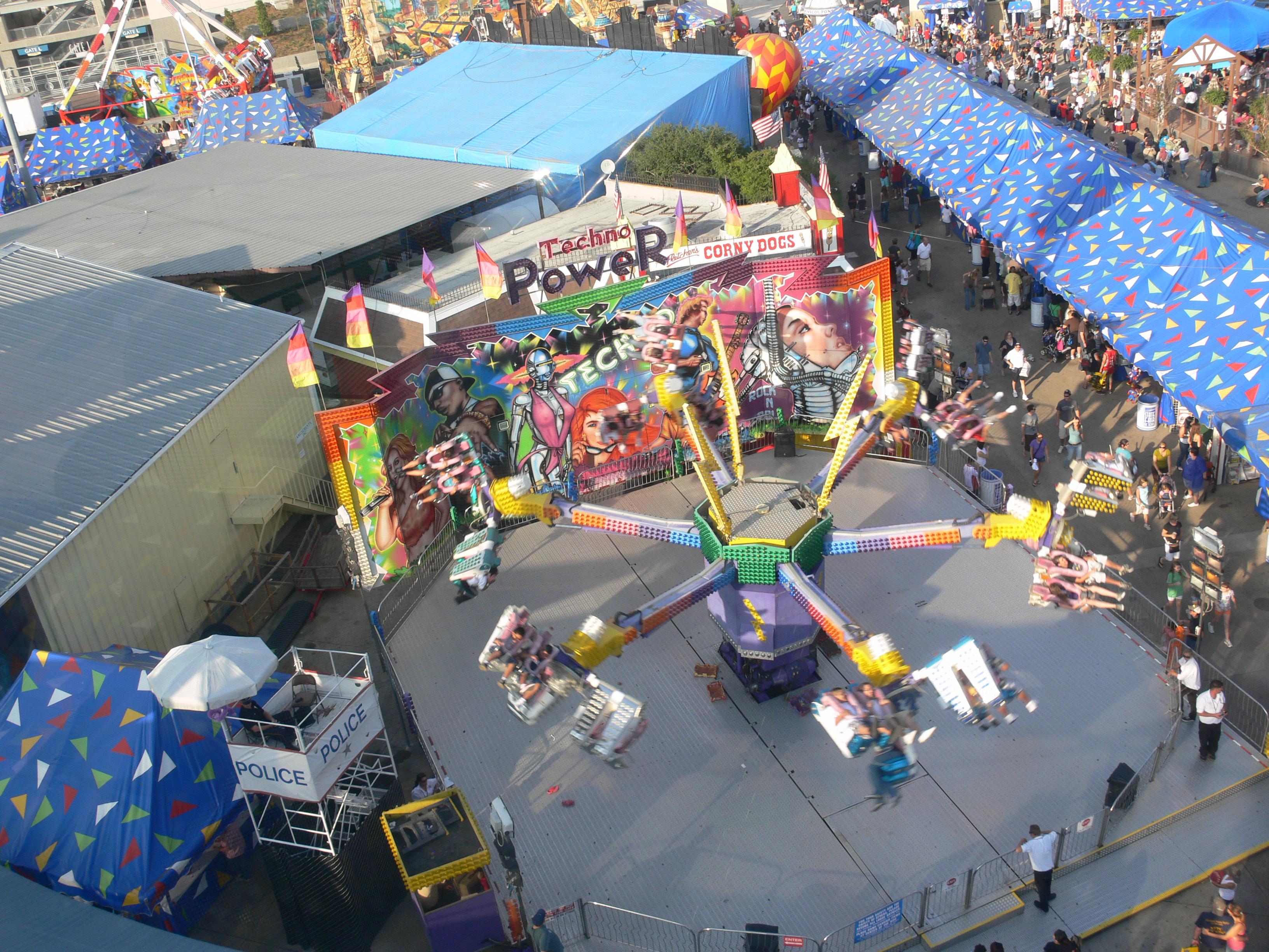 Texas State Fair Rides