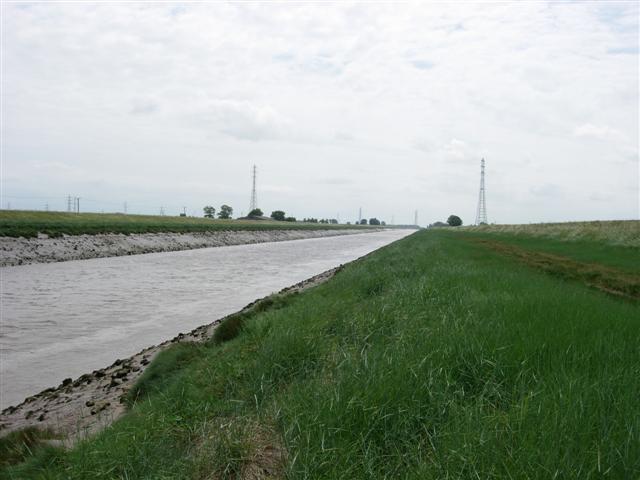 The River Nene near Sutton Bridge - geograph.org.uk - 187042