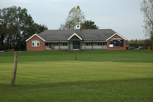 Ticknall Cricket Pavilion - geograph.org.uk - 277885