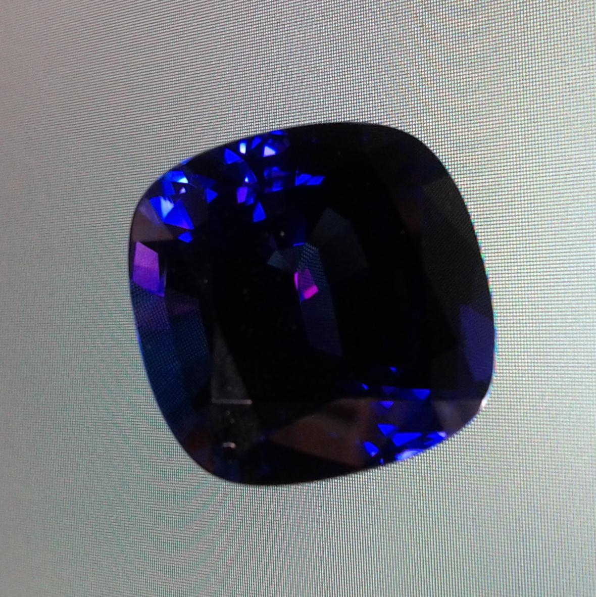 Tanzanite And Emerald Ring