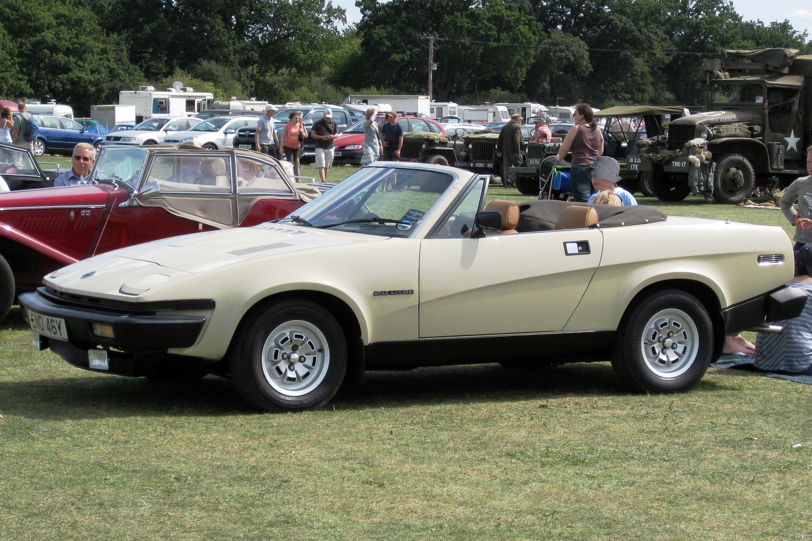 Race Cars For Sale >> TR7 or some variant thereof may represent: