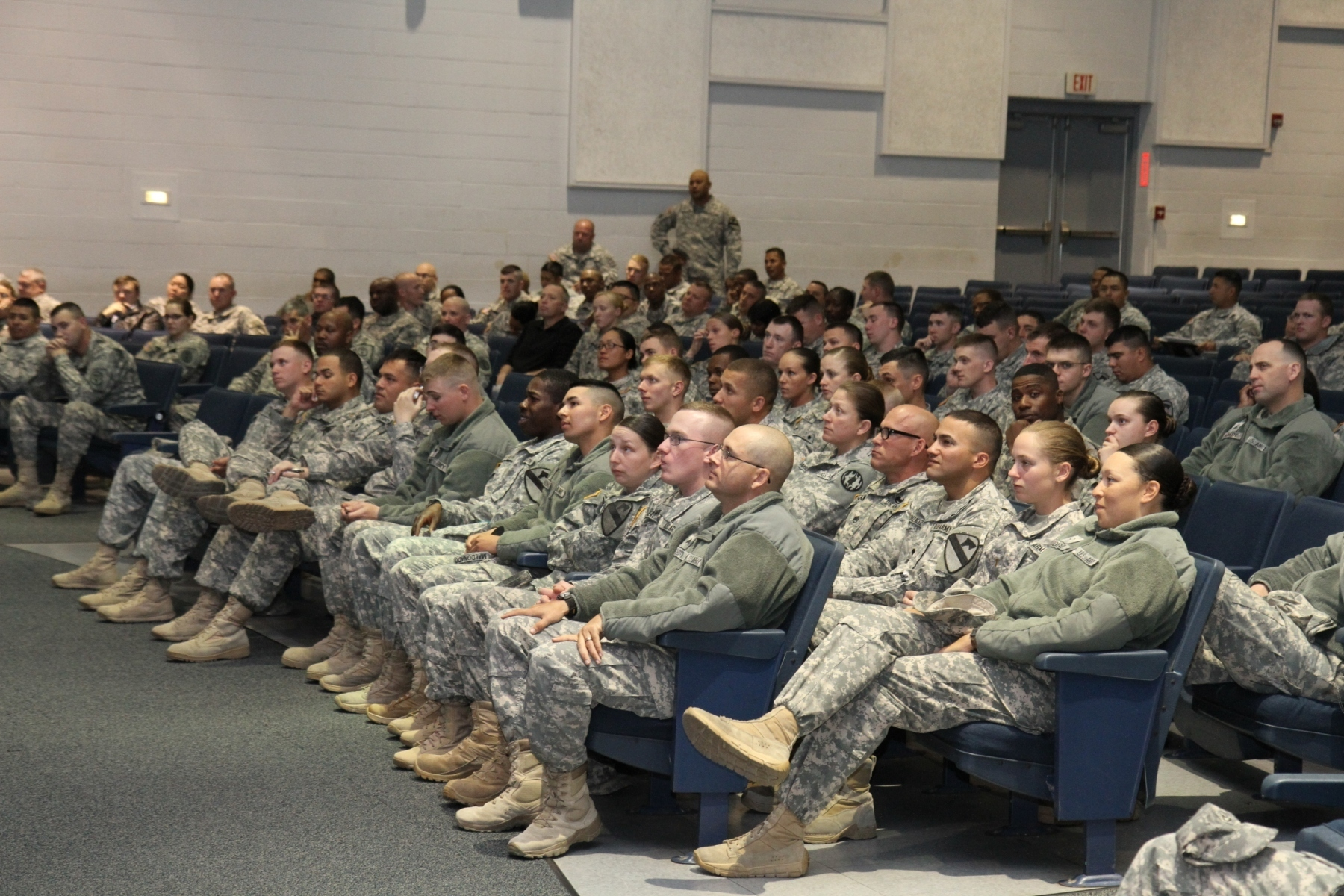 Sexual harassment training in the army