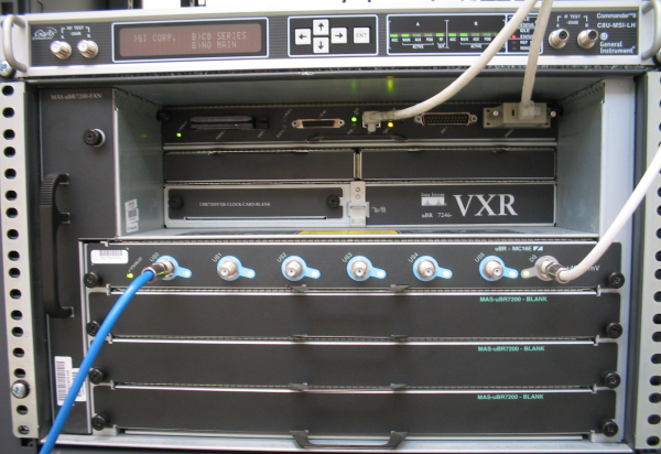 Cable Modem Termination System (CMTS)