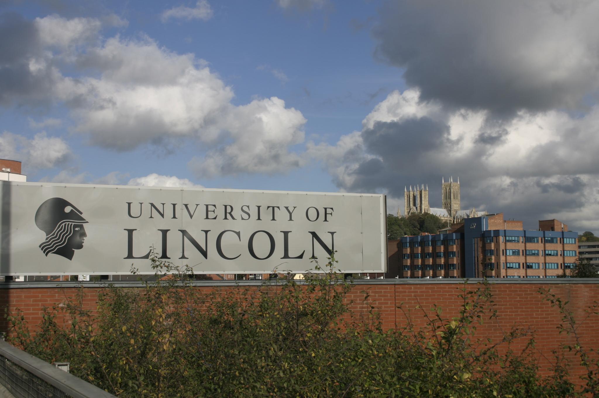 Description uk university of lincoln logosign