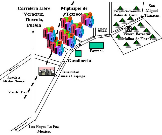 Nezahualcoyotl Mexico Map.Molino De Flores Nezahualcoyotl National Park Wikiwand