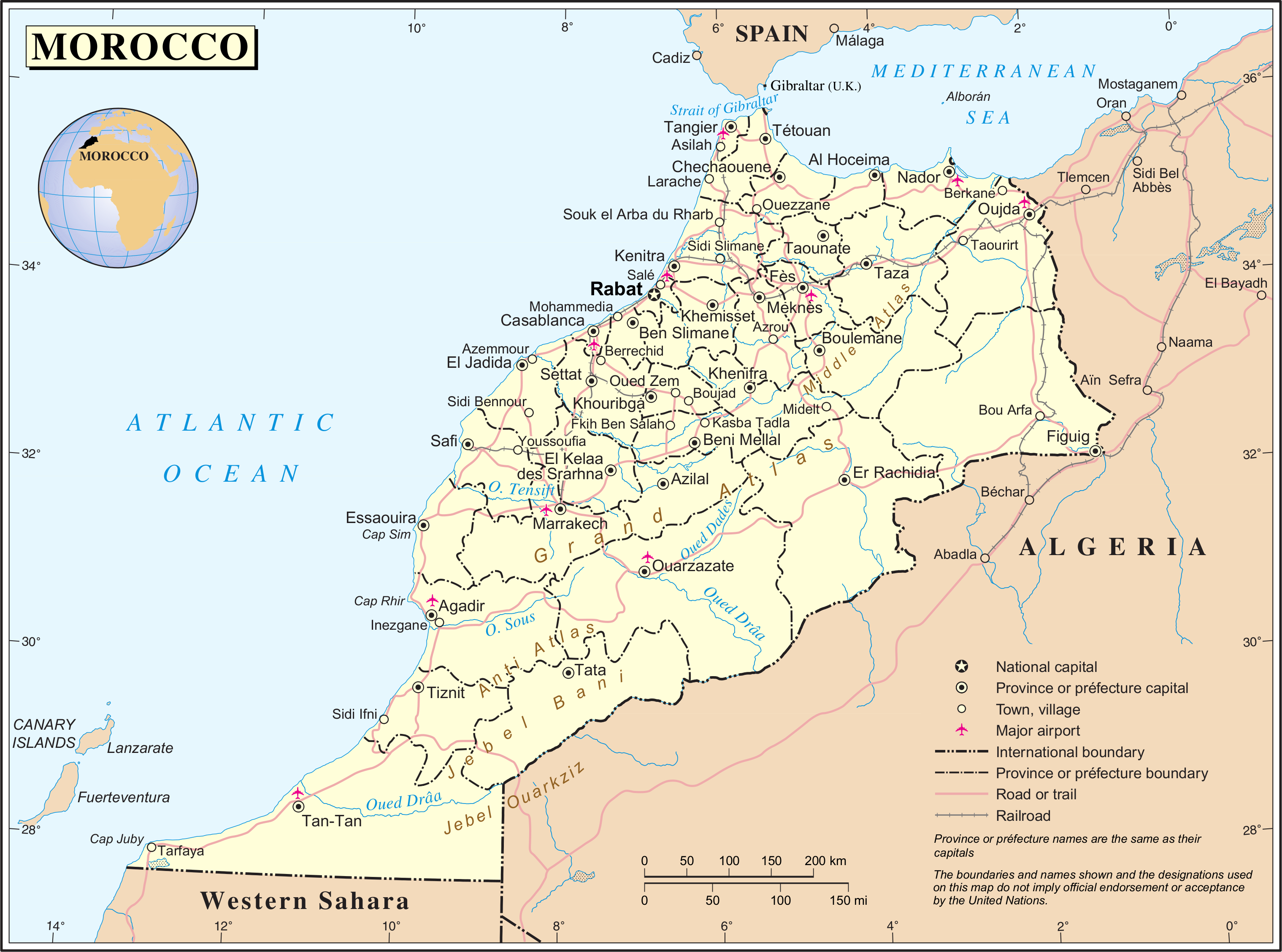 FileUnmoroccopng Wikimedia Commons - Map of morocco