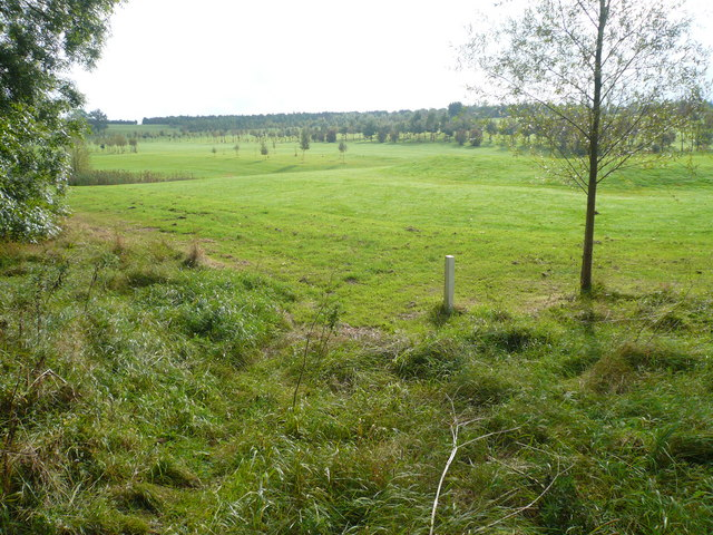 View across Golf Course next to Brierley Forest Park - geograph.org.uk - 573861