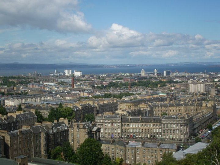 View of Edinburgh My Breakthrough Moment as an Advertising Intern in Scotland