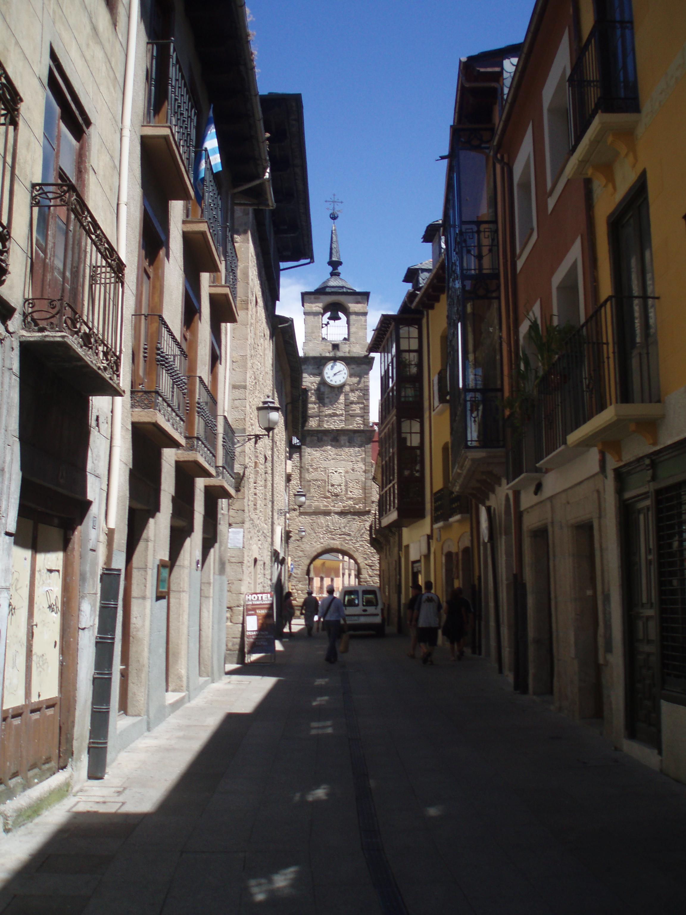 Ponferrada Spain  City pictures : del reloj de Ponferrada. Ponferrada, Spain