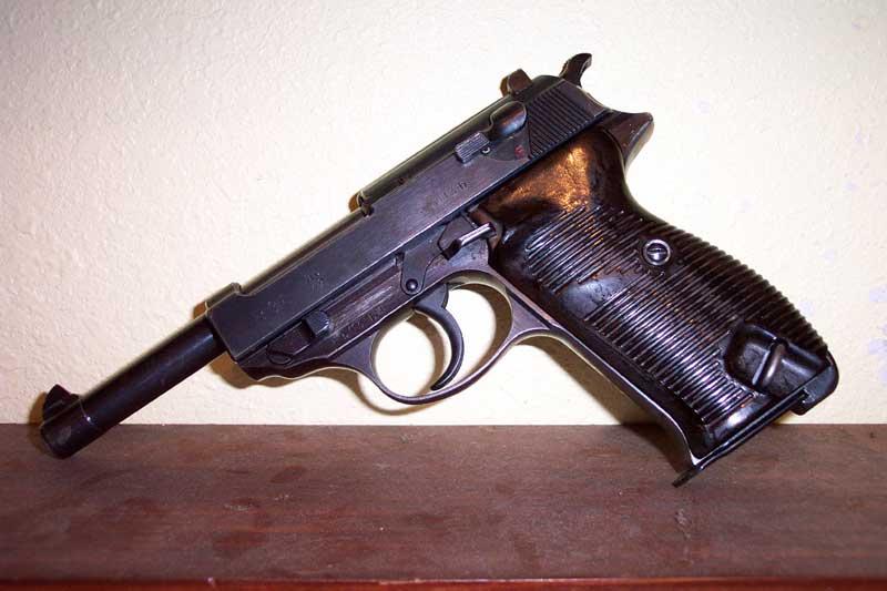 Die Carl Walther GmbH Sportwaffen WaltherP38_de_Kar98