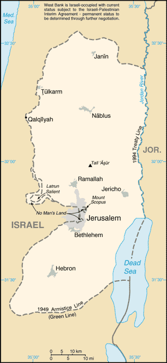 West Bank-CIA WFB Map (2004).png
