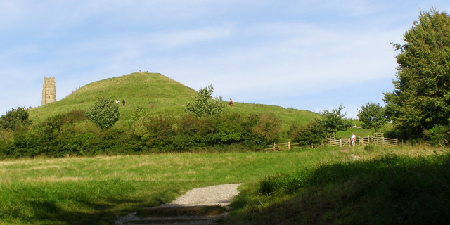 Western end of Glastonbury Tor - geograph.org.uk - 939468