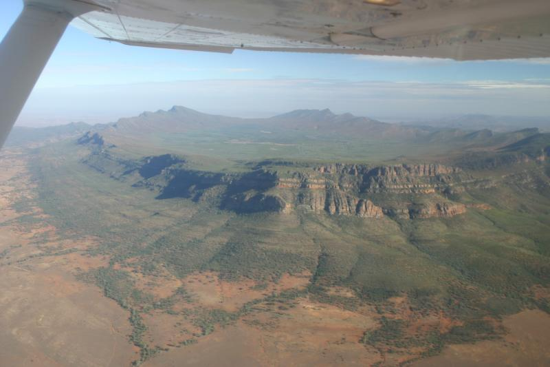 Wilpena Pound from the Air