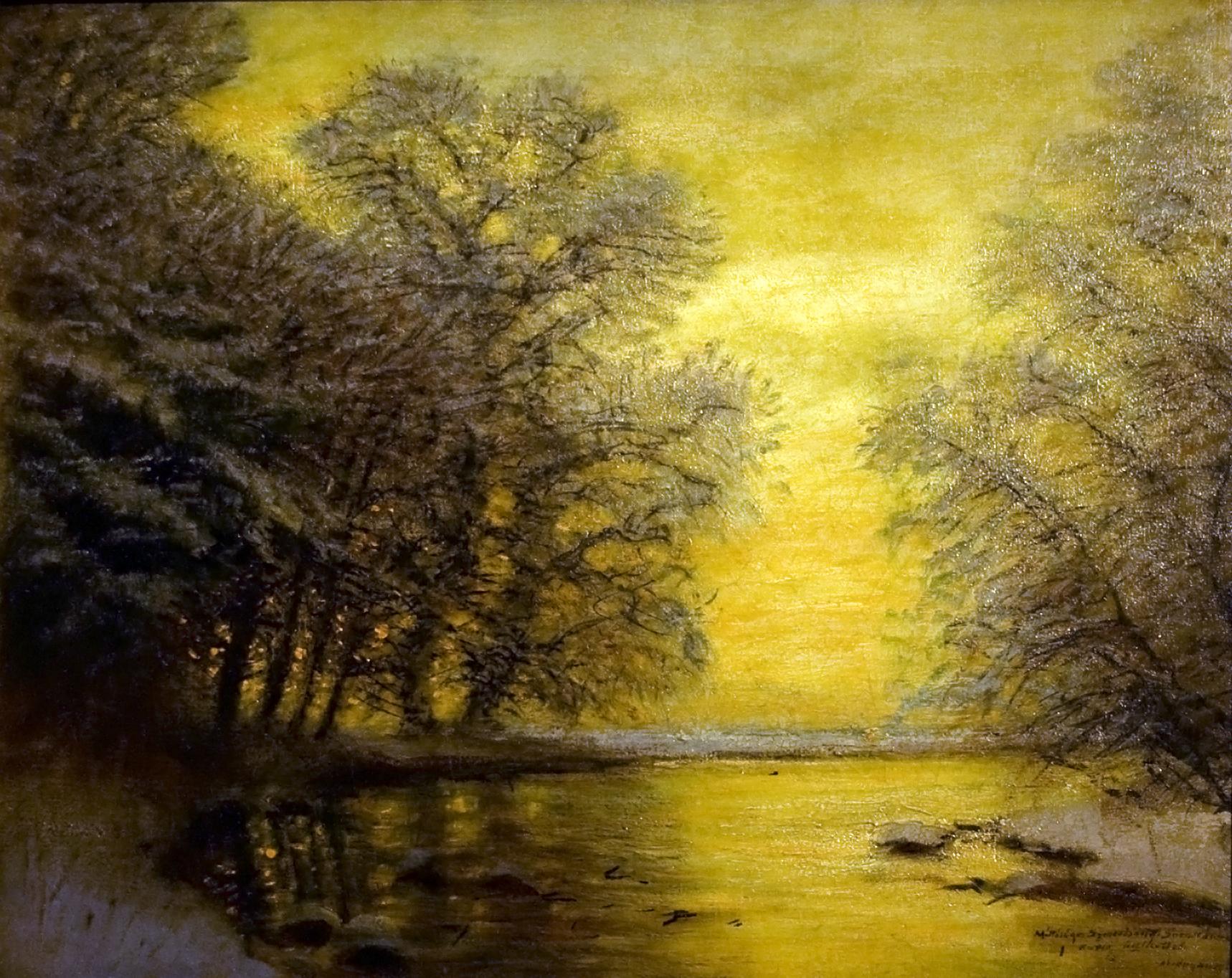 Laszlo Mednyanszky Oil Paintings