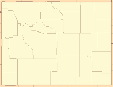 wyoming map with counties List Of Counties In Wyoming Wikipedia wyoming map with counties