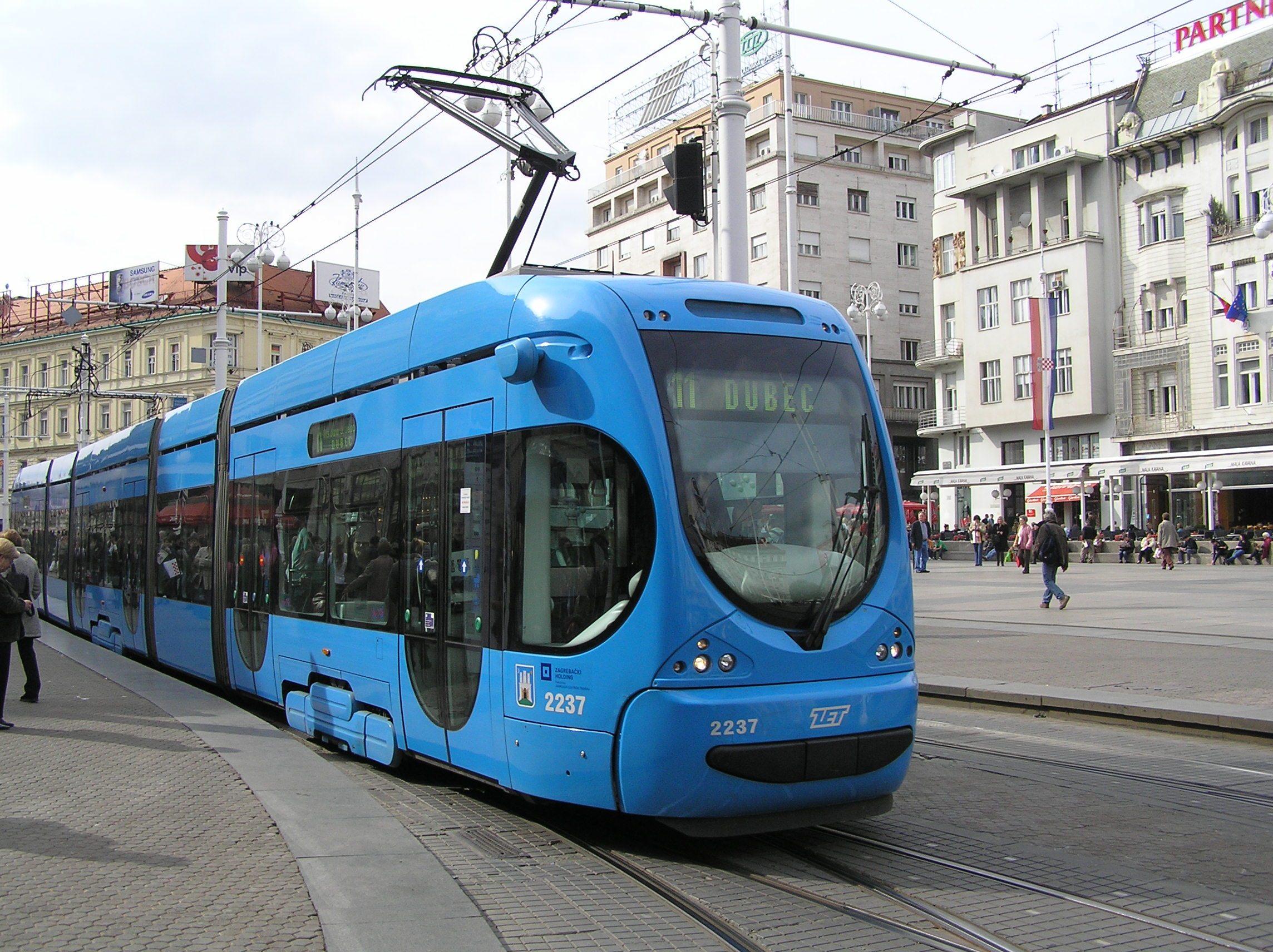 Javni Gradski Promet U Zagrebu Wikipedija