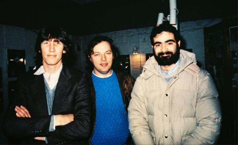 file zuccarelli con roger waters y david gilmour