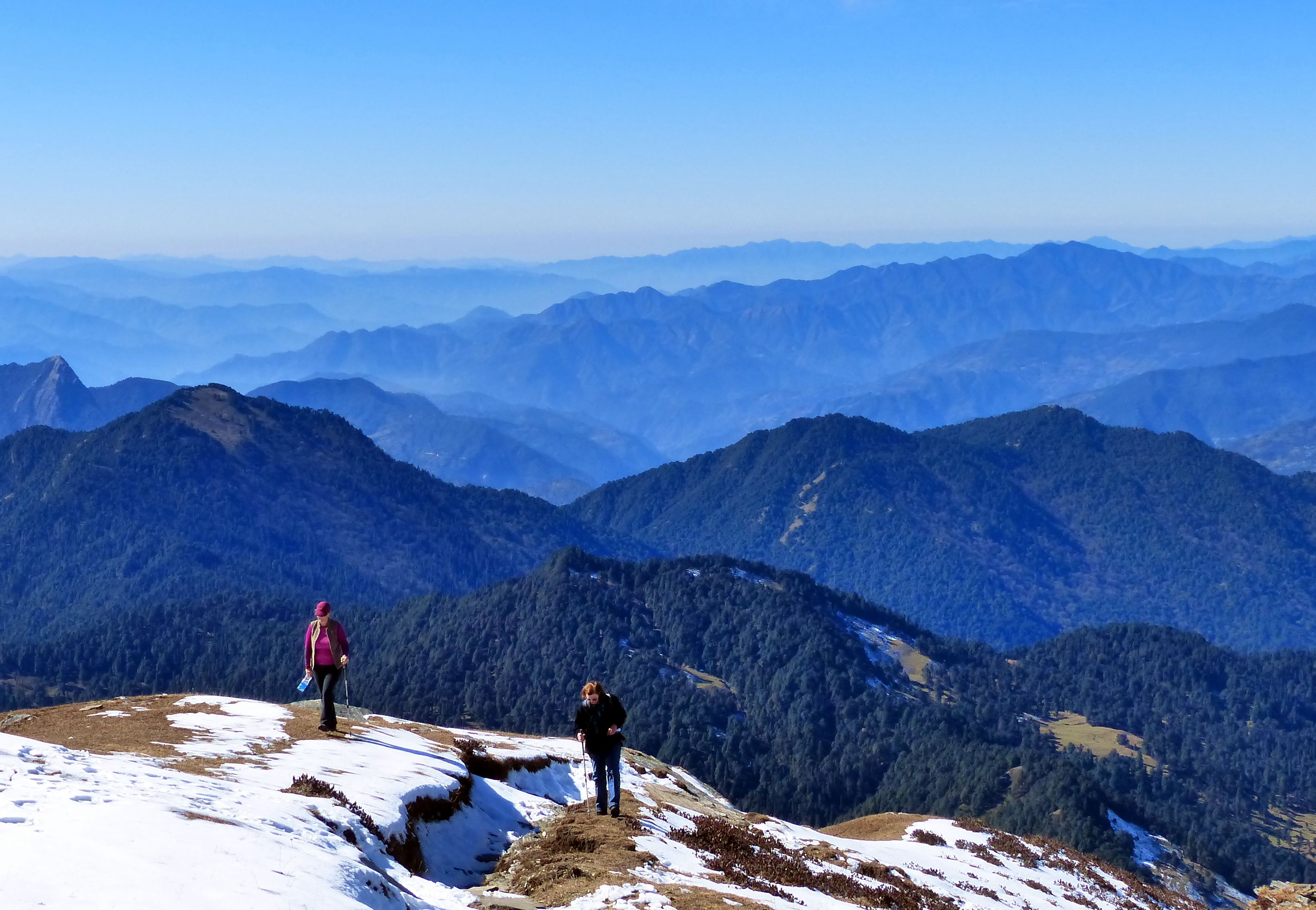 File A View Of Himalayan Foothills Uttarakhand India