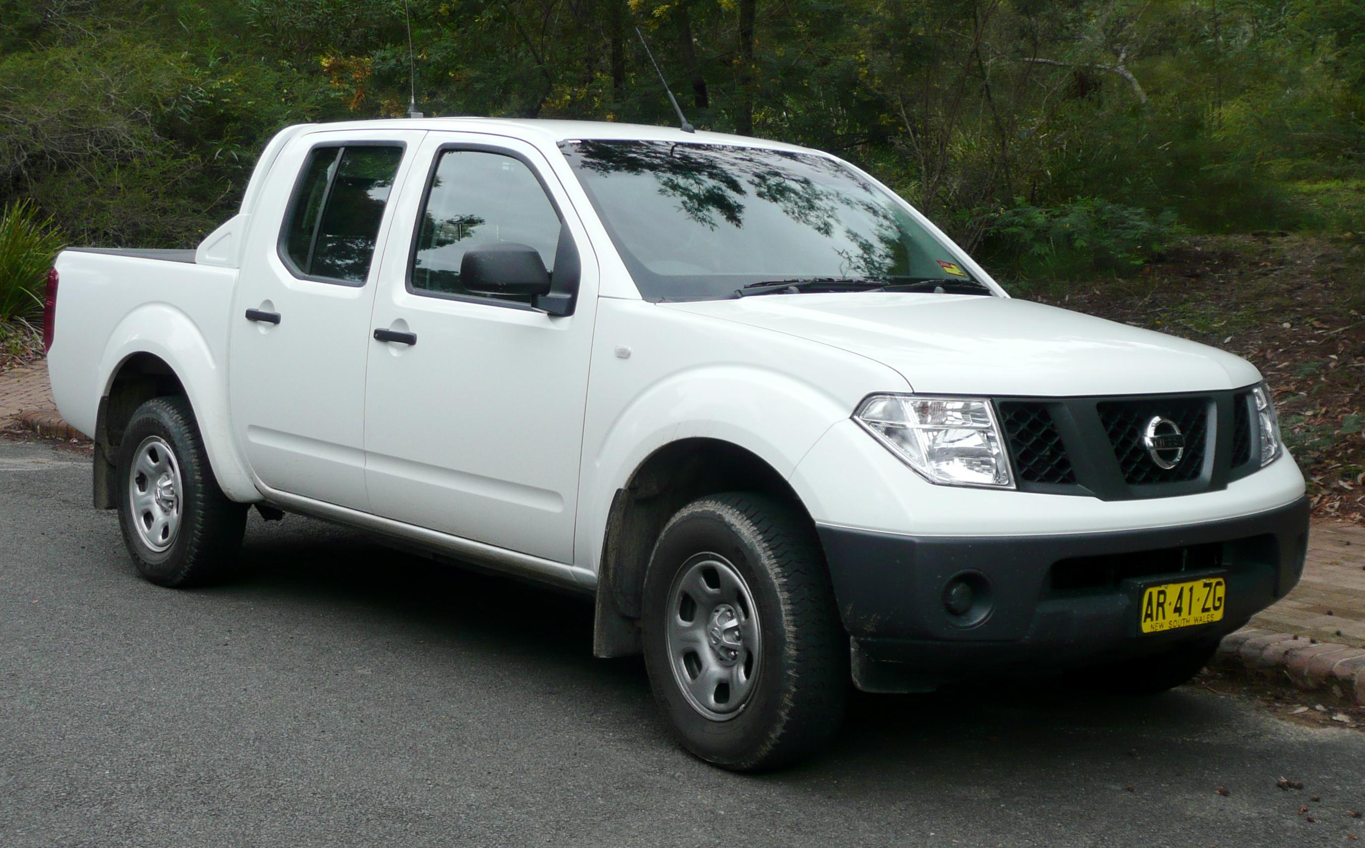 Ficheiro:2005 2007 Nissan Navara (D40) RX 4 Door Utility (