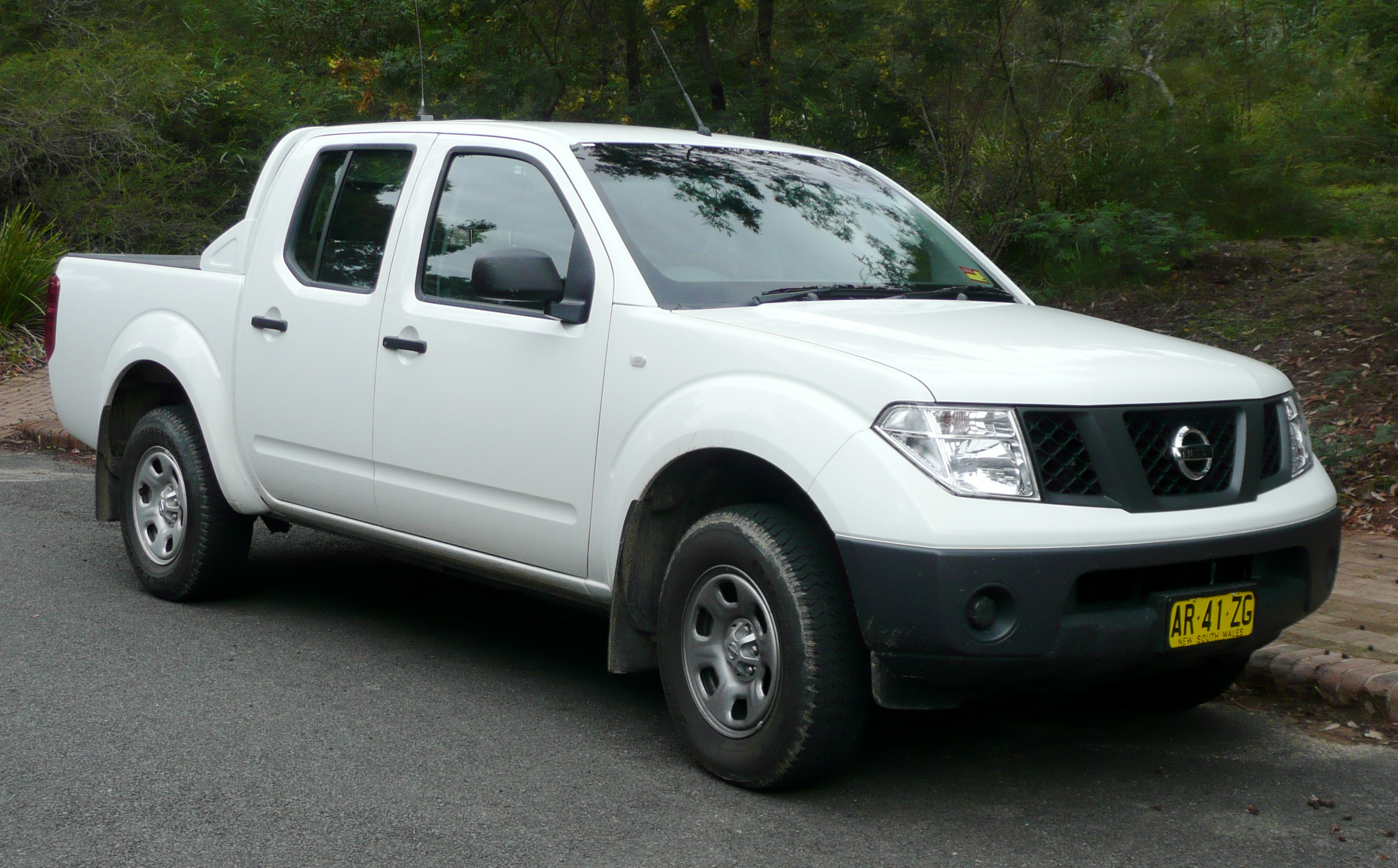 file 2005 2007 nissan navara d40 rx 4 door utility 2007 12 12 wikimedia commons. Black Bedroom Furniture Sets. Home Design Ideas