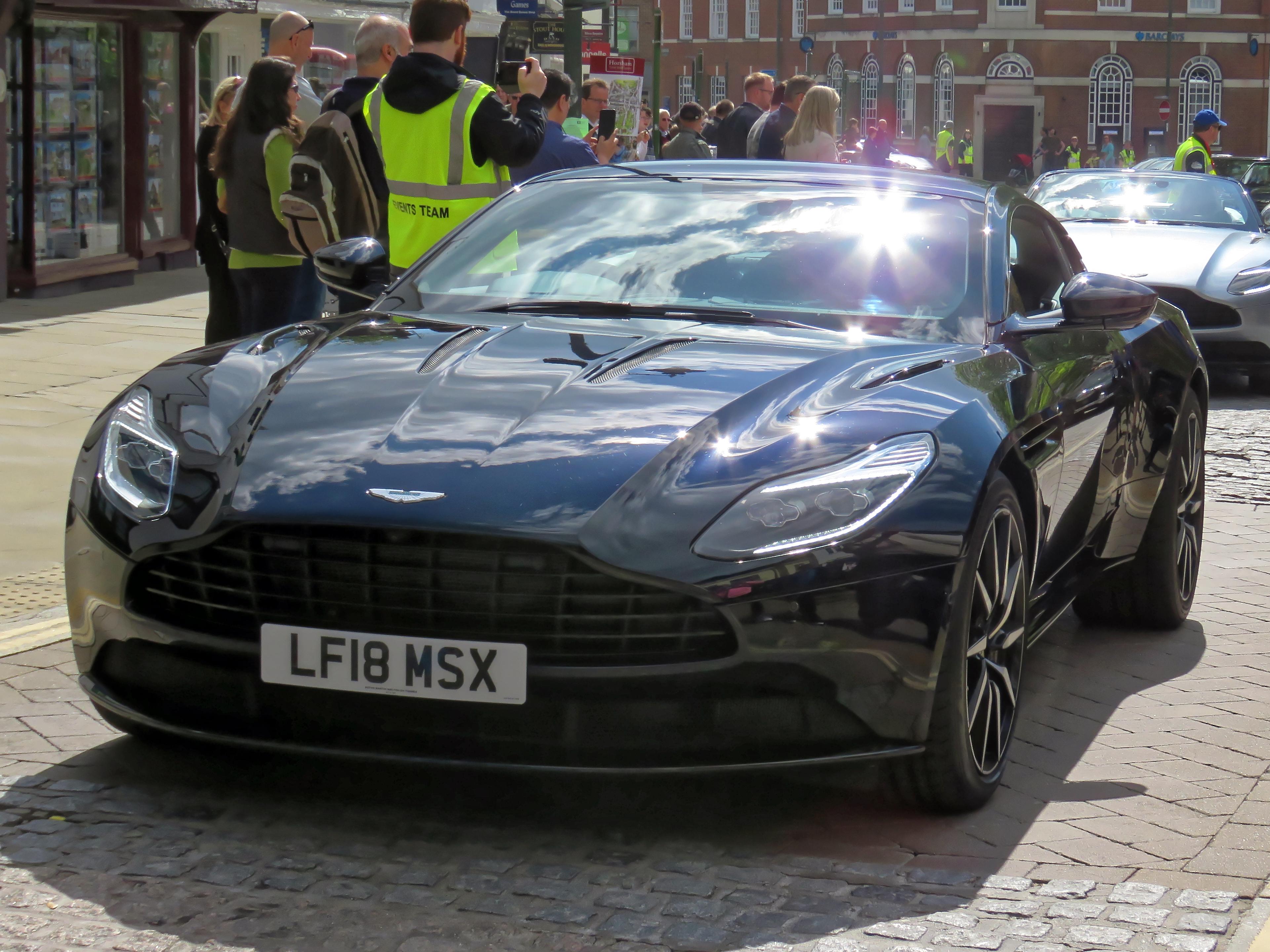 File 2018 Aston Martin Db11 V12 5204 Cc At Horsham English Festival