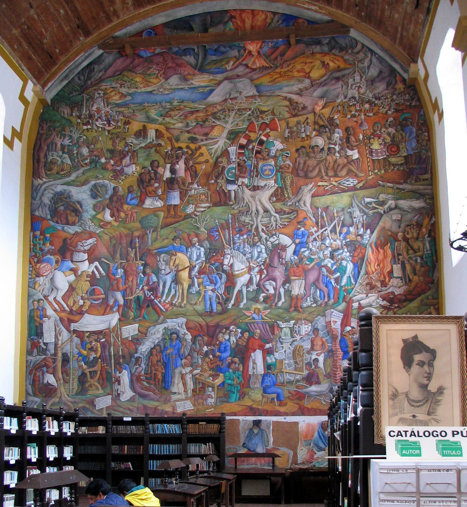 Er ndira wikipedia la enciclopedia libre for Mural de juan o gorman