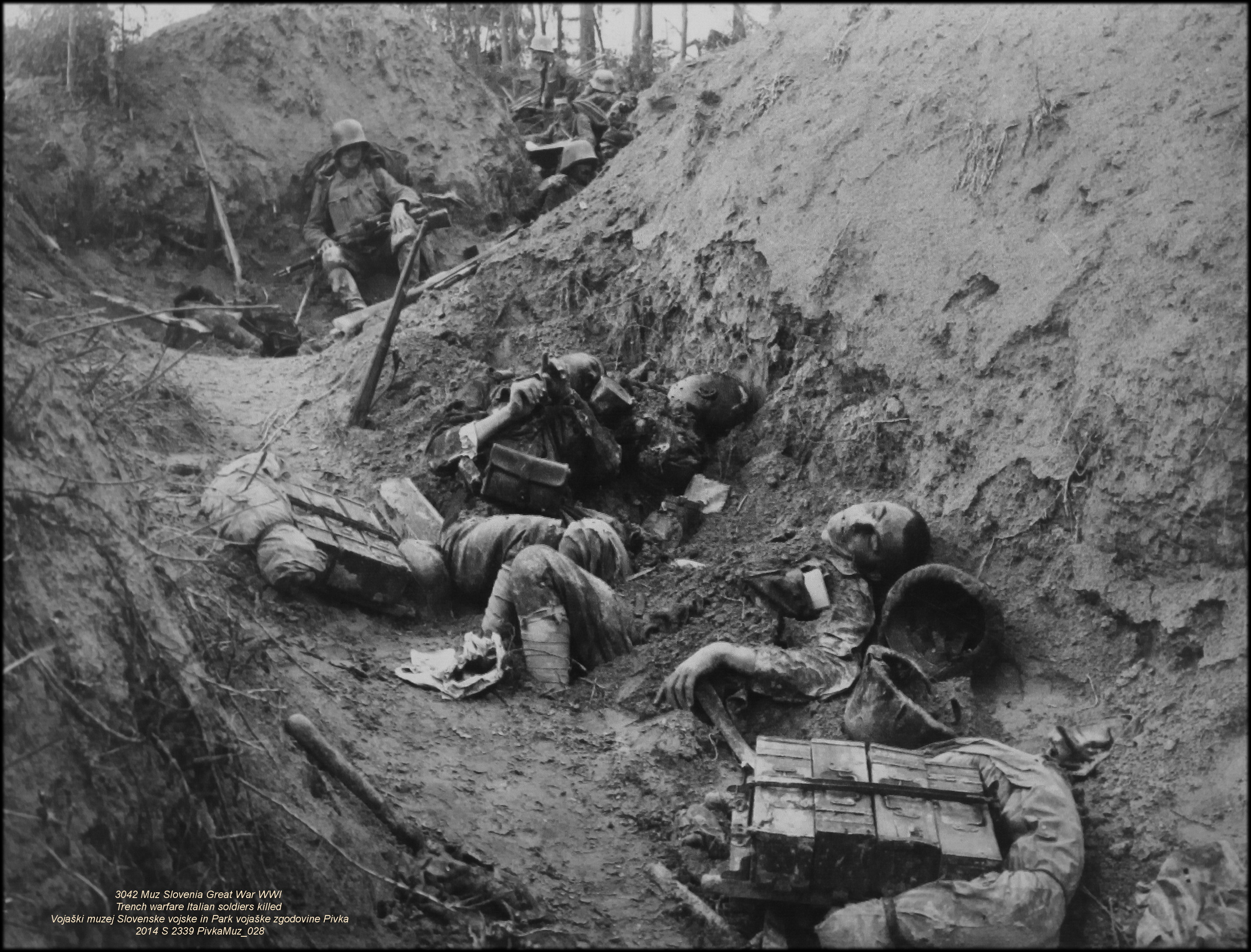an overview of the historic trench warfare in war tactics Trench warfare soldiers pointing guns over the top of a sandbag trench - nd pictures of trenches are often used to symbolize the first world war: indeed it is rare to see an image from the conflict that does not include men in trenches, or a battle scarred landscape with trenches in it.