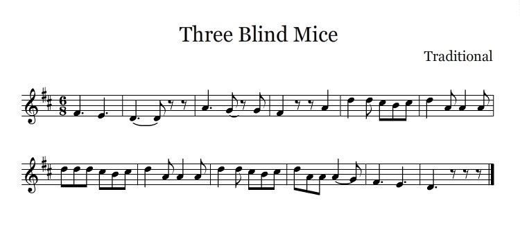 four blind mice title significance essay Story(25) elephant and the blind men once upon a time, there lived six blind men in a village one day the villagers told them, hey, there is an elephant in the village today.
