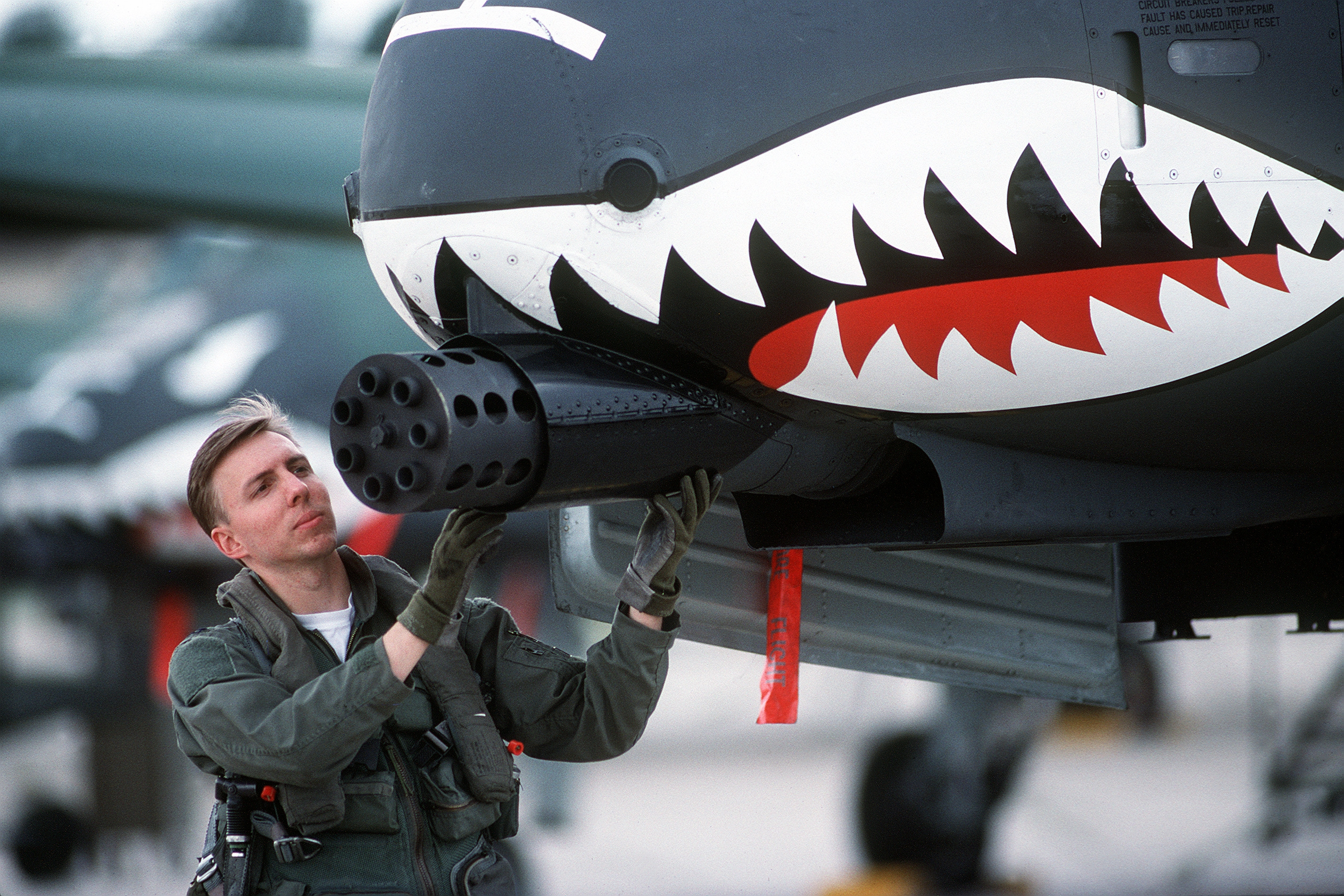 Abductions, UFOs and Nuclear Weapons : A-10 pictures