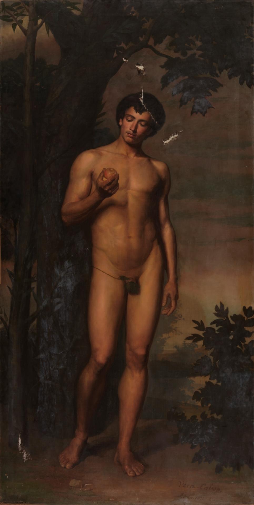 Адам в Раю