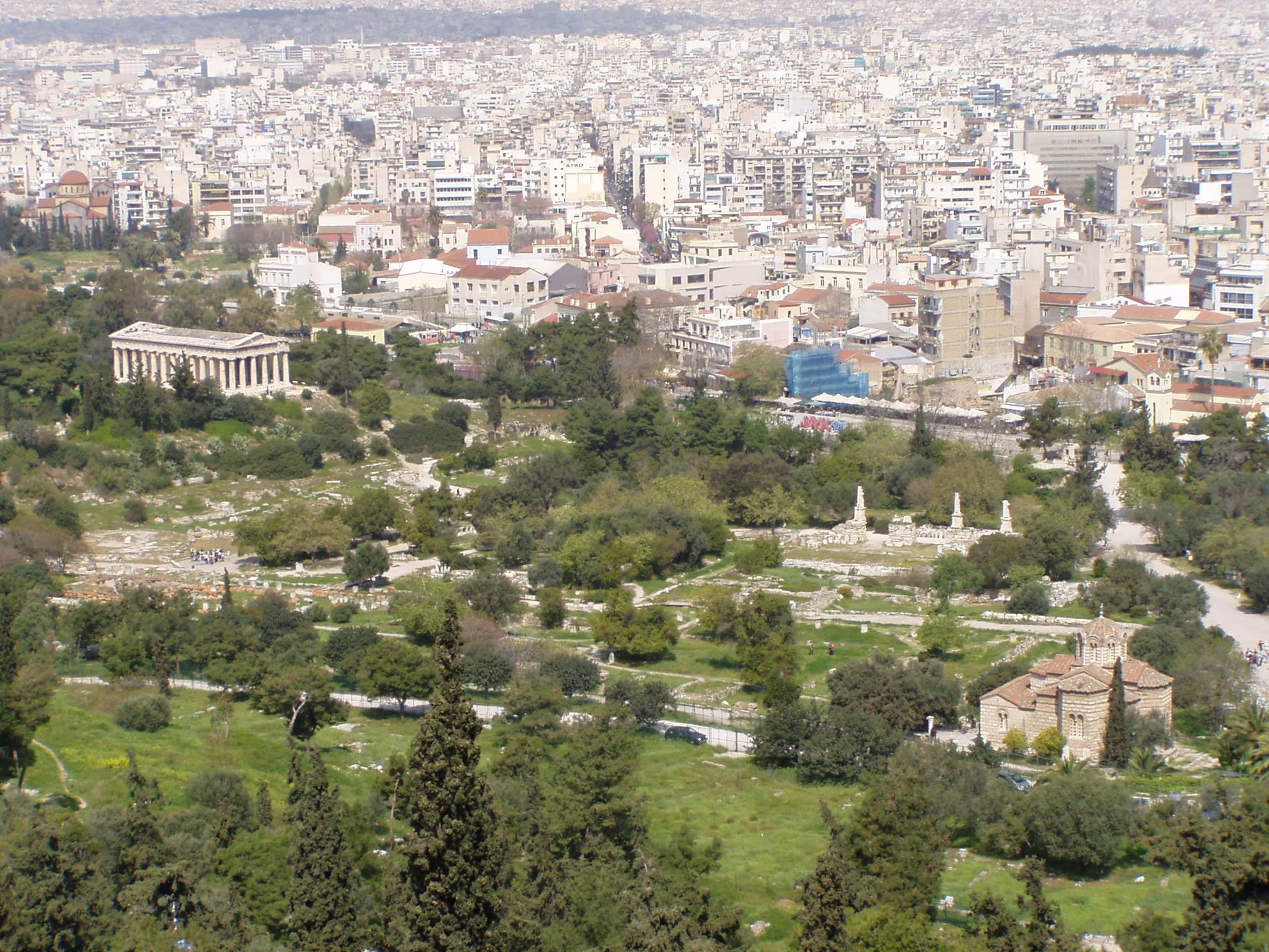Agora (Athen) - Wikiwand