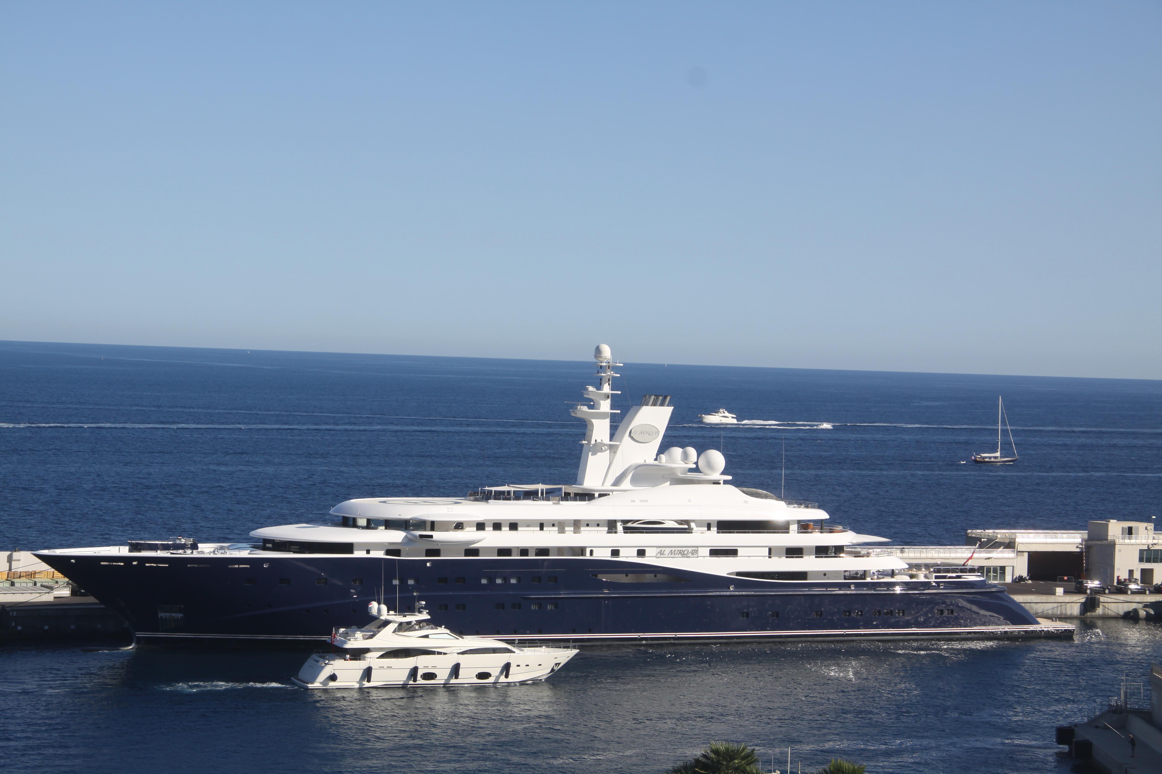 Al Mirqab (yacht) - Wikipedia